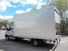 REMOVALS, MAN & VAN, VAN HIRE WITH DRIVER we do not collect waste