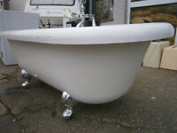 double ended victorian style bath