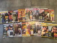 Lot of 20 vintage Kerrang magazines from the early 90's Heavy Metal Rock Thrash
