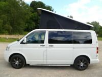 VW T5 CAMPERVAN. BRAND NEW PROFESSIONAL 4-BERTH CONVERSION. ABSOLUTELY STUNNING. BARGAIN.