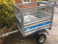 Maypole Tipping Trailer + mesh sides & cover