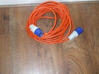 Hook up cable for Motorhome or Caravan or Tent