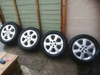 Vauxhall alloy wheels 16""