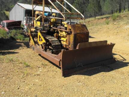 Caterpillar D4 6U Bulldozer