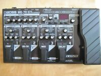 BOSS ME70 MULTI-EFFECTS UNIT