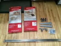 Rubbermaid Configurations Shelf kit and Shoe Shelf kit + extras