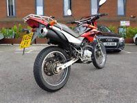 Honda xr 125 , not wr 125 yzfr 125 cbr 125