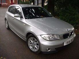 BMW 1 Series 2.0 118d SE Hatchback 5dr Diesel Manual (150 g/km, 122 bhp) 2006 (06 reg), Hatchback