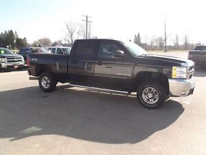 2009 Chevrolet SILVERADO 2500HD LT,DIESEL,CREW,SHORT,4X4,142 KM! Kitchener / Waterloo Kitchener Area image 4