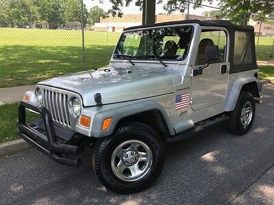 2002 Jeep Wrangler X 2002 X Used 4L I6 12V Manual 4X4 Suv