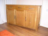 oak sideboard from Allan Ward