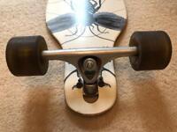 Arbor axis 40 bamboo longboard skateboard.