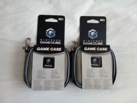NINTENDO GAMECUBE OFFICIAL GAME DISC WALLETS X2 - BRAND NEW