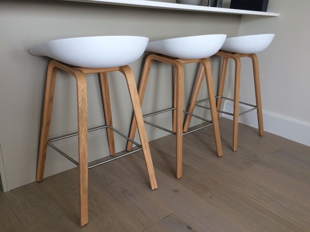 Hay Scandinavian Bar Stools