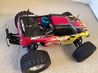 Rc Nitro Monster truck 1/8 scale