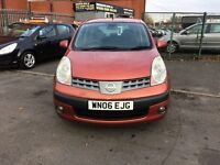 Nissan Note 1.5 dCi SE 5dr SERVICE HISTORY,