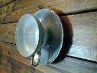 TWO PIECE TEA CUP AND PLATE! BEAUTIFUL