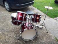 Percussion plus junior drum kit
