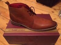 Base London Tan Devon Mens Boots Size 11