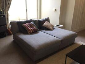Kivik modular sofa grey Ikea