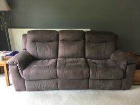 2,3 seater reclining electric sofas