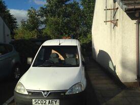 Vauxhall combo 1700di