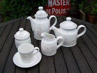 Royal Doulton 'Fresh Flowers Chelsea' design Tea & Coffee Service