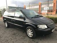 ***CHRYSLER GRAND VOYAGER 2.8 CRD LIMITED AUTOMATIC+7 SEATER+REAR ENTERTAINMENT+HEATED LEATHERS***