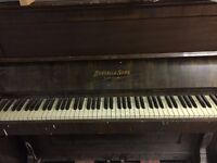 piano for sale bansall & sons london make