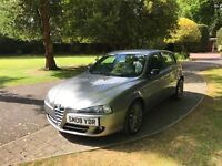 ALFA ROMEO 147 COLLEZIONE 2008, ONLY 70K MILES, SUPERB CONDITION, BLACK LEATHER INT. NEW TIMING BELT