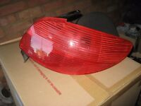 Peugeot 206 rear light clusters from 2002 model