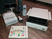 Bargain- Symbol PDT3100 Barcode Scanner, Olivetti printer, Wang Cashtill,and more