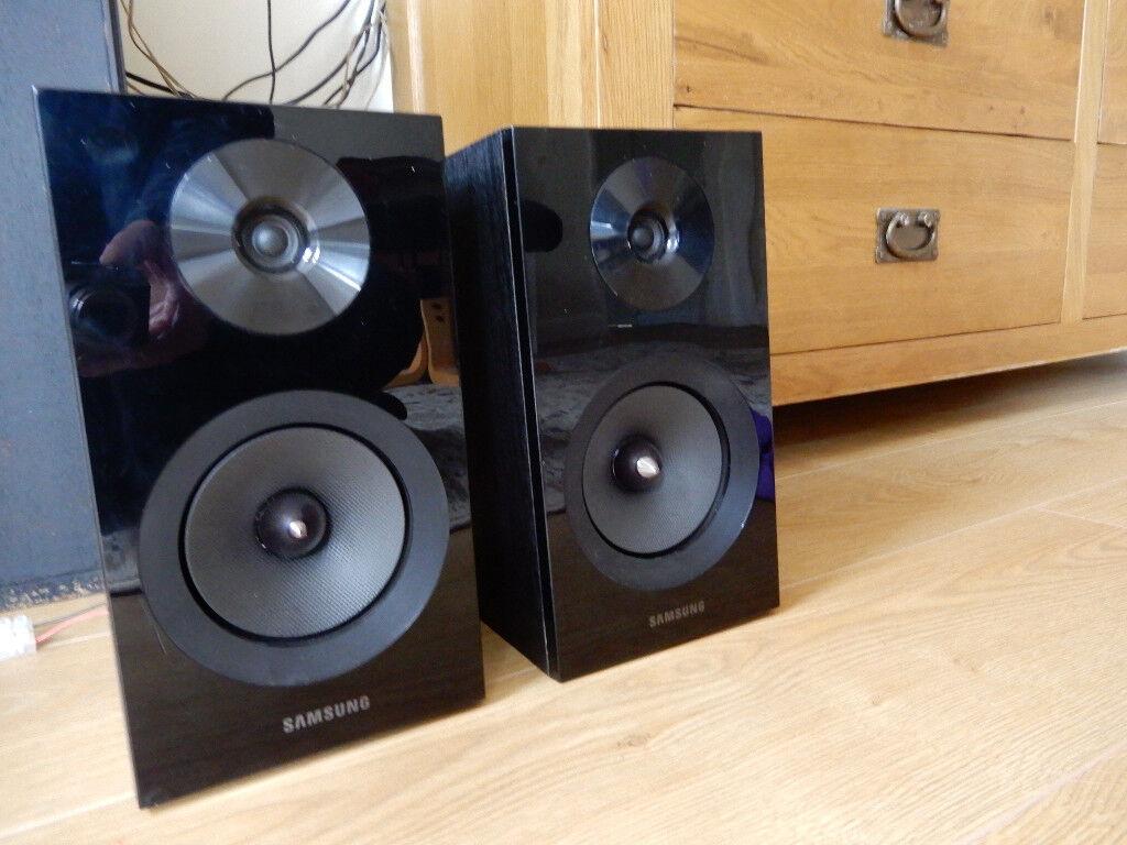 Samsung Speakers Super BASS From Bookshelf Sized