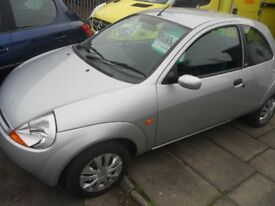 FORD KA STYLE CLIMATE 1.3 PETROL 07 REG ONLY 62,000 MILES MARCH TEST BIRTLEY CAR SALES DH3 1PR
