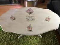 Bespoke shabby Chic coffee table