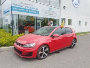 2015 Volkswagen GTI AUTOBAHN TOIT OUVRANT PANO, CLIM A DOUBLE ZO