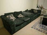 3 piece suite Living Room Sofas(3 seater & 2 seater) and Coffee Table