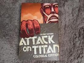 Attack On Titan Colossal Edition Manga Book