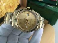 Rolex Datejust 2, golden Roman Numerals dial