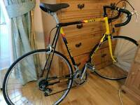 Mens Raleigh retro racer bicycle