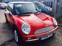 MINI COOPER 1.6 PETROL MANUAL 2004 2 OWNER ALLOYS CLEAN CAR