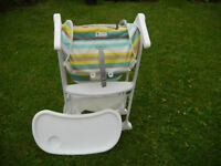 Joie mimsy snacker high chair