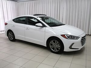 2018 Hyundai Elantra SEDAN w/ SUNROOF, APPLE CARPLAY, BACKUP CAM