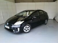 2014(14) TOYOTA PRIUS 1.8vvti***ONE OWNER***UK MODEL HYBRID AUTO FSH CAN PCO (finance available)