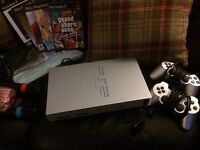Playstation 2 Games Console and accessories