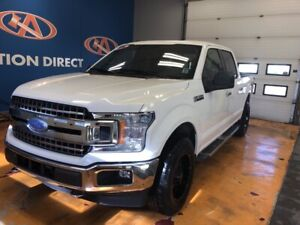 2018 Ford F-150 XLT 4X4/ SUPER CREW/ TONNEAU COVER/ POWER GRO...
