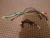 Patch Leads for guitar pedals x 10