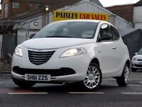 2011 REG CHRYSLER YPSILON S 1.2cc 5 DOOR.