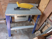 metabo table saw