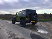 Jeep Wrangler 4 door monster customised stunning diesel